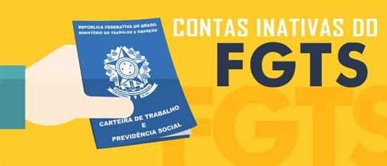 Saque FGTS inativo documentos